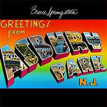 Greetings from Asbury Park, Bruce Springsteen