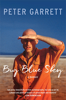 Big Blue Sky, Peter Garrett