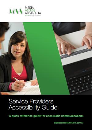 Service Providers Accessibility Guide