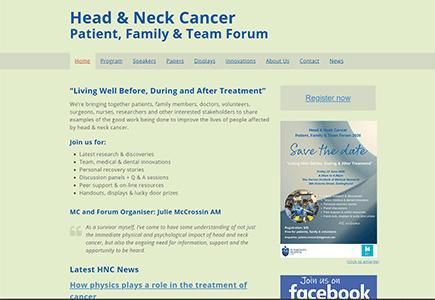 Head Neck Cancer Forum